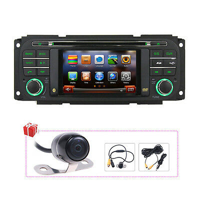 Navigation Radio For Jeep Grand Cherokee Liberty Chrysler PT Cruiser Car DVD GPS