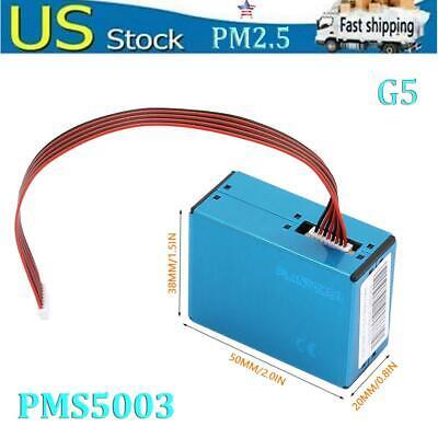 Pms5003 G5 Laser Dust Sensor High Performance Laser Module Pm2.5 Built-in Fan Us
