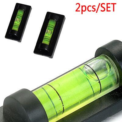 2x portatile tubolare magnetico magnete BOLLE Mini Livella a d' ARIA PICCOLO