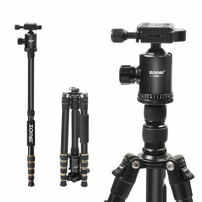 ZOMEI Z669 Lightweight Aluminium Tripod Monopod Travel for Canon Nikon Camera