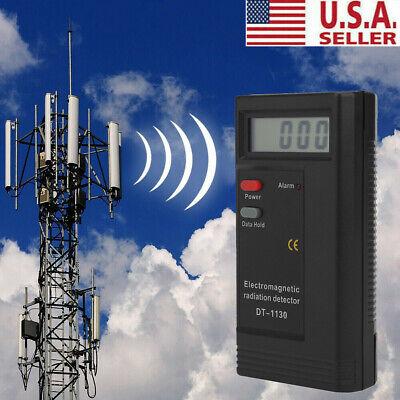 Electromagnetic Radiation Detector Emf Meter Tester Ghost Hunting Equipment New
