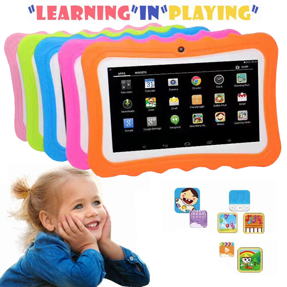 7 Inch Kids Tablet Android with Camera WiFi Education Game G