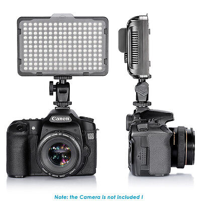 Neewer Studio 176 LED Ultra Bright Dimmable on Camera Camcorder Video (Ultra Bright Video Light)