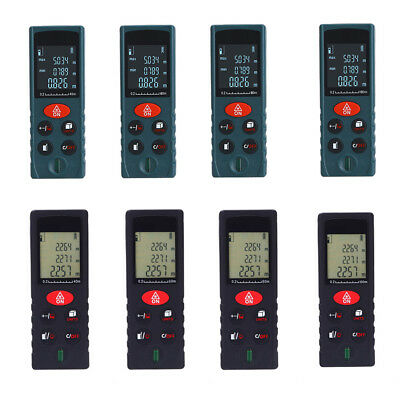 Mini Handheld Digital Laser Distance Meter Range Finder Measure Diastimeter Hot