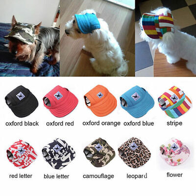 Pet Dog Hat Baseball Cap Sports Windproof Travel Sun Hats for Puppy Large (Dog Pets Cap)
