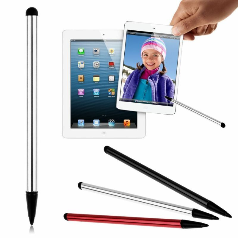 3Clr 2in1 Universal Stylus Touch Screen Pen For iPhone iPad Samsung Tablet Phone