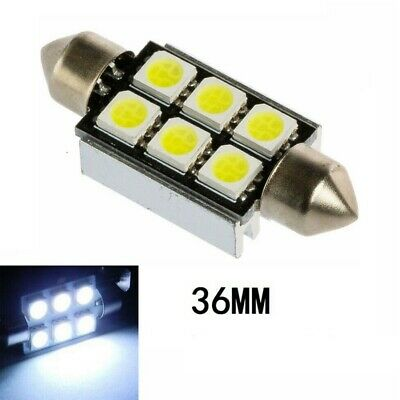 36mm Weiß Kennzeichenbeleuchtung Nummernschildbeleuchtung Lampen Birne CANBUS