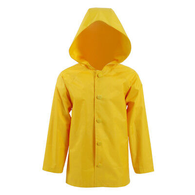 Georgie Denbrough Yellow Raincoat Stephen King's It Halloween Cosplay Costume (Yellow Raincoat Halloween Costume)