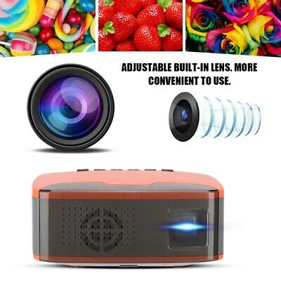 1080P HD Projector LED LCD 3D WiFi Video Home Theater AV/HDMI/USB Cinema Beamer