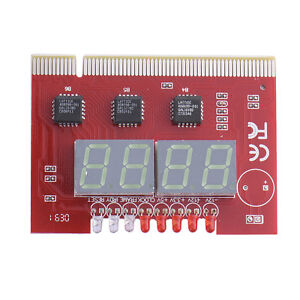 LED 4 Digit Analysis Diagnostic Tester POST Card PCI PC Motherboard New