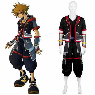 Kingdom Hearts III Protagonist Sora Uniform Cosplay Kostüm