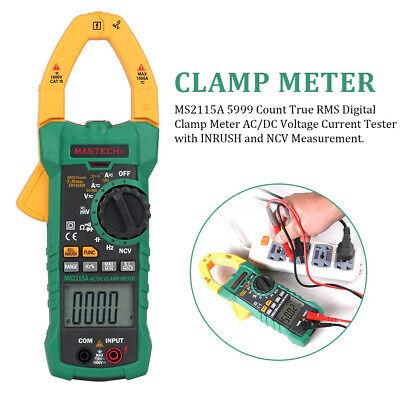Ms2115a True Rms Abs Multimeter Digital Clamp Meter Portable Dc Ac Amper