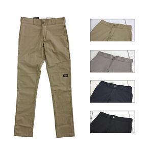 DICKIES - WP811 Skinny Straight Fit Double Knee Work Pant