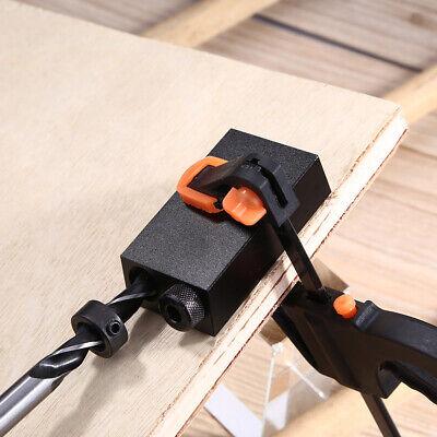 f0d24f6c4d9d7 Practical Woodworking Oblique Hole Drill Bits   Wood Clamp Fixture carpentry