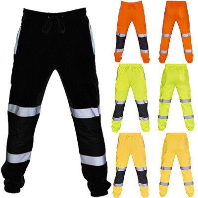 - Hi Viz High Vis Safety Combat Cargo Pocket Work Trouser Pants Highways Road Rail