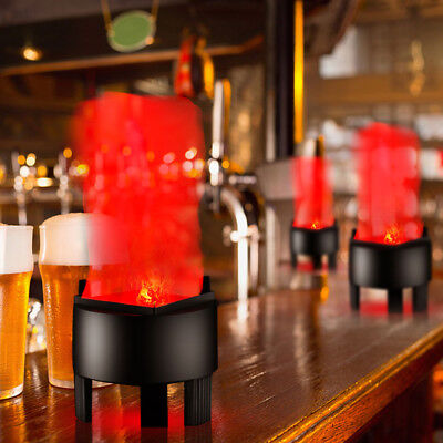 3W LED Fake Flame Effect Lamp Torch Light Fire Campfire Centerpiece For Bar Home (Halloween Fake Fire Effect)