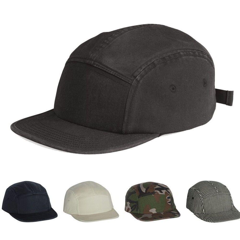 Alternative Jockey Flat Bill Cap 100% cotton panel Unisex Outdoorsman Hat  h0085 2b2b6db3c58