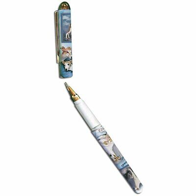 New Greyhound and Whippet Dog Designer Roller Pen in Gift Box By Ruth Maystead