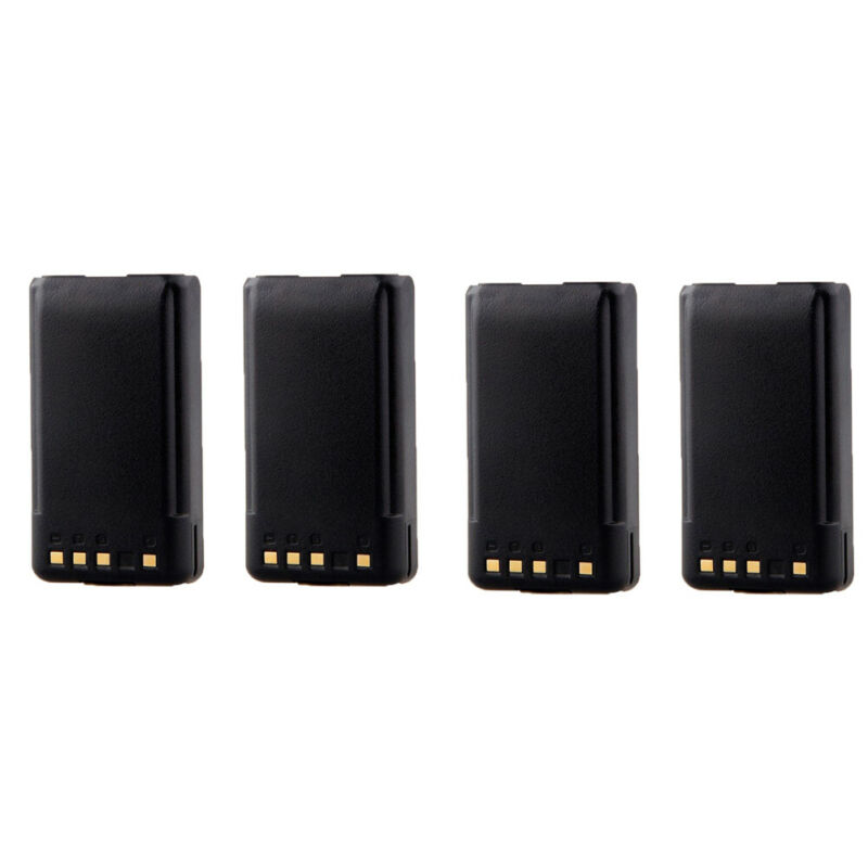 4X New KNB-55L KNB-57L Battery for KENWOOD TK2173 TK3173 TK2360 TK3360 NX220