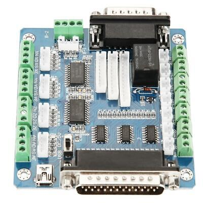 Mach3 Interface 5 Stepper Motor Driver Controller Breakout Controll Board