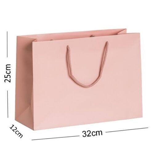 Rose Blush Pink Matt Landscape - Boutique Party Shop Birthday Present Gift Bags
