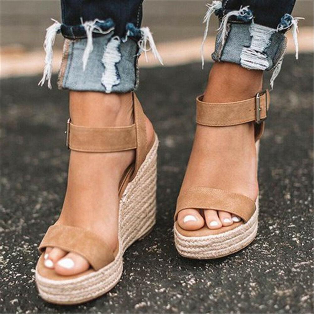 Platform Sandals Wedges Shoes For Women Sandalias Summer Sho