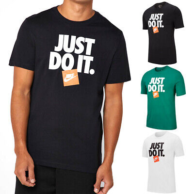 Nike Men's Active Sportswear Short Sleeve Just do It NSW HBR3 T Shirt Clothing, Shoes & Accessories