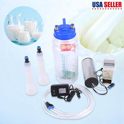 2l Electric Us Plug Milking Machine Milk Milking Machine Thickened Water Tank