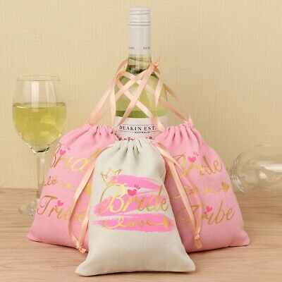 Bachelorette Party Hangover Kit Bags Bride Tribe Bridal Wedding Favor Gifts Bags