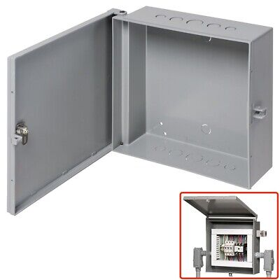 Arlington Outdoor Electric Cabinet Enclosure Box Heavy Duty Plastic 11 X 11