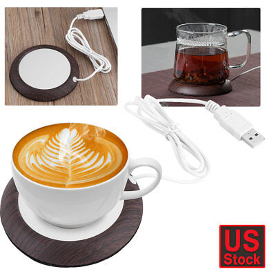 (Electric Mug Beverage Warmer Cup Heater Pad for Coffee Tea Soup Home Office US)