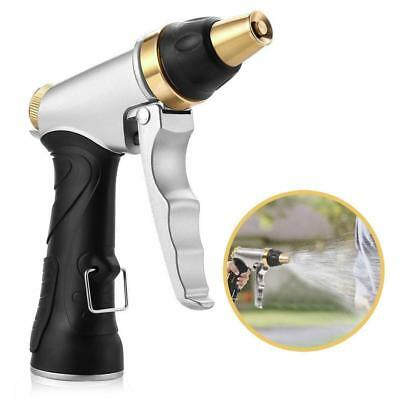 Metal garden hose nozzle sprayer gun Adjustable water pistol Cleaning/Washing