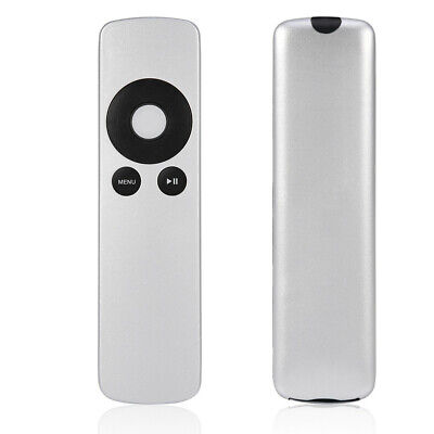 FOR Apple TV Remote Control white for Apple TV, TV2, TV3 and TV4, 4th Gen Silver