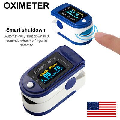Oled Finger Pulse Oximeter Blood Oxygen Sensor O2 Spo2 Monitor Heart Rate Dv