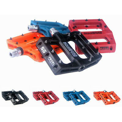 1 Pair Bicycle Road Mountain Bike Nylon Anti-skid Bearing Pedals Accessories Bicycle Components & Parts
