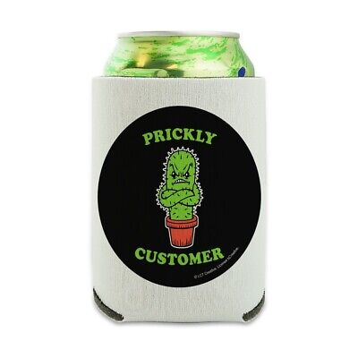 Prickly Customer Cactus Funny Humor Can Cooler Drink Hugger Insulated Holder](Cactus Cooler Drink)