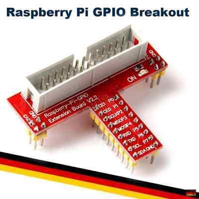 Raspberry Pi 2 3 GPIO Adapter Board Erweiterung Extension Kabel Stecker Breakout - Adapter Breakout-kabel