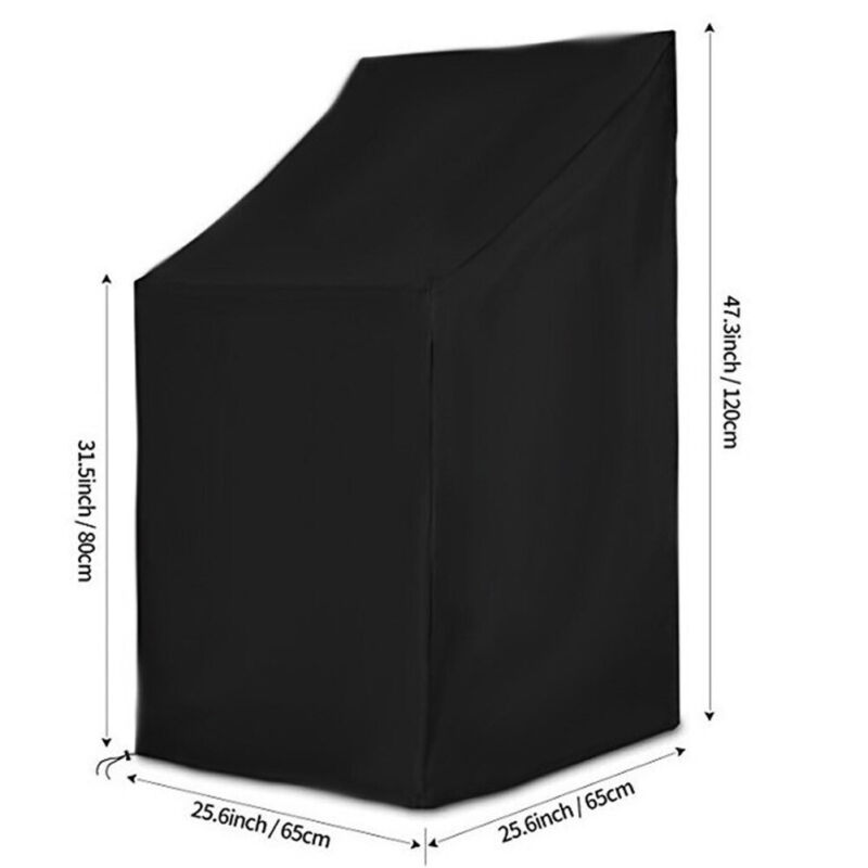 210D Outdoor Garden Waterproof And Uv-Proof Chair Cover Furniture Protective