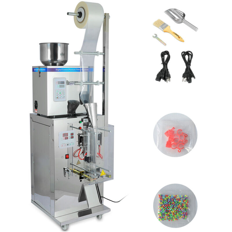 New Automatic Weighing And Packing Filling Particles & Powder Machine 110V