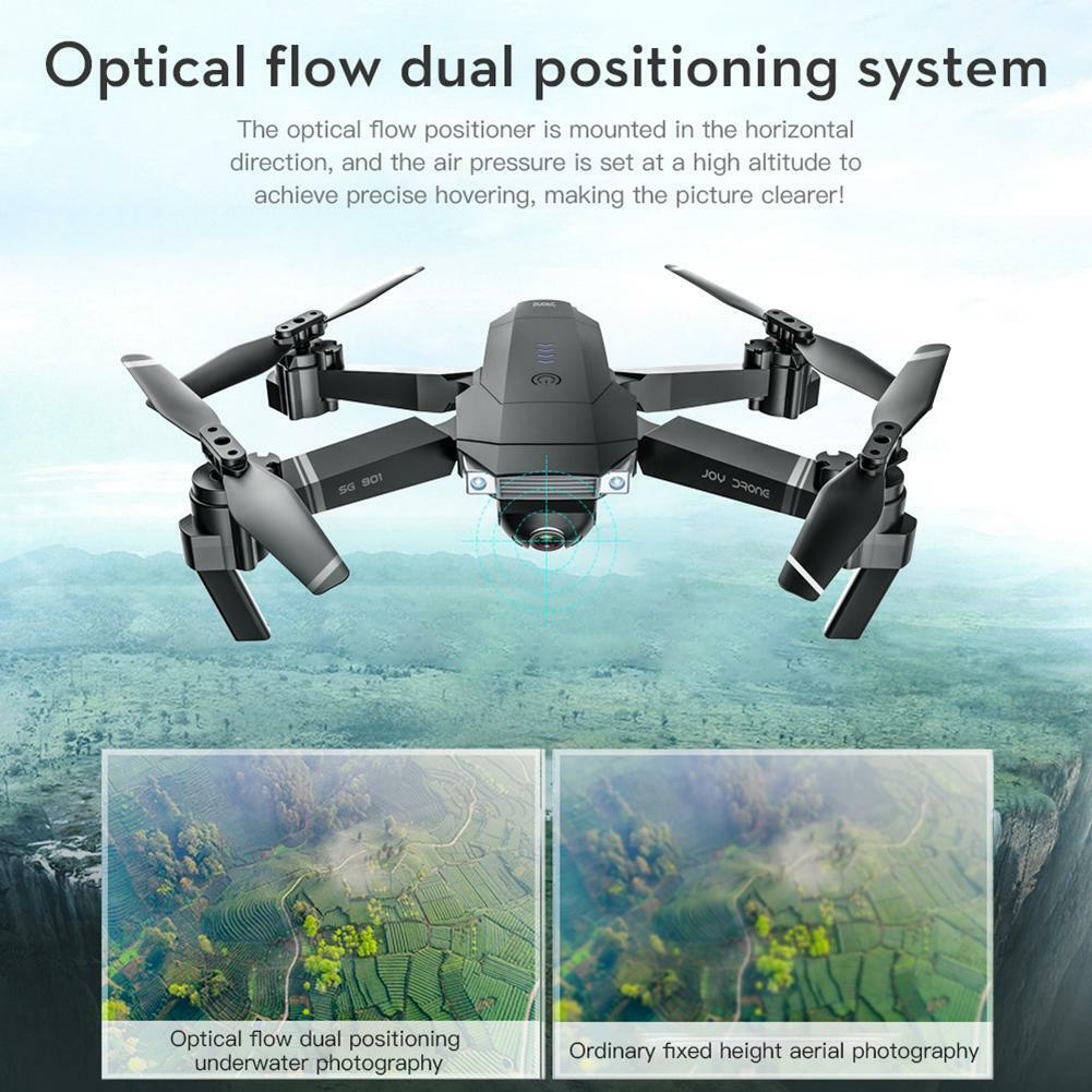 SG901 Brushless 4K FPV Camera RC Drone Quadcopter w/One Battery Color Box