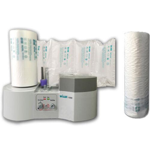 110V Air Pillow Cushion Bubble Wrap Maker WiAIR-1000 Machine + Free Air Pillow
