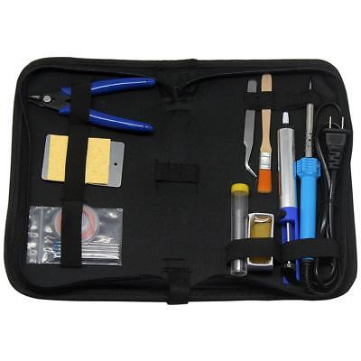 Aidetek Soldering Iron Kit15-in-1 Welding Tool 30w Soldering Iron Carry Bagspc1
