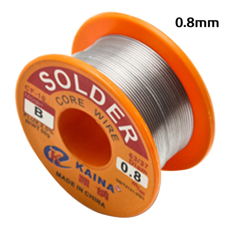Pro 63/37 0.8mm Tin Lead Rosin Core Solder Flux Soldering Welding Iron Wire Reel