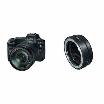 Canon EOS R Mirrorless Digital Camera w/24-105mm Lens & Moun