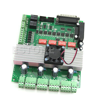 Hot 4 Axis Tb6600 Cnc Controller Max Current 5a 36v Stepper Motor Driver Board