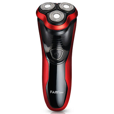 FARI Rotary Electric Razor Shaver with Pop-up Trimmer, Wet & Dry Razor for Men