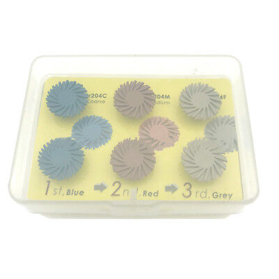Dental Composite Polishing Disc Kit Spiral Flex Brush Burs Tooth Polisher Brush