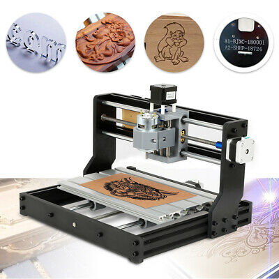 Cnc 3018pro Laser Diy Wood Cnc Router Kit Engraving Machine 3 Axis Pvc Pcb