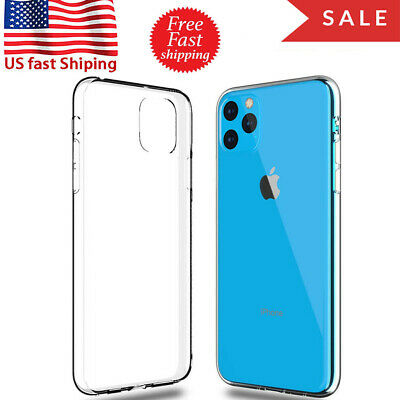 Best iPhone 11 Pro Max 1/2/5 Slim Hard Case Thin Cover Skin Clear Protector