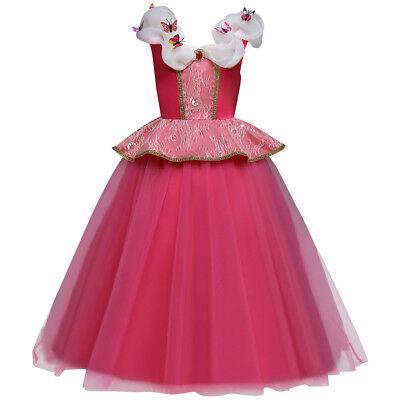 Sleeping Beauty Princess Cosplay Dress Fancy Costume for Kid Girl Birthday - Sleeping Beauty Costumes For Teens